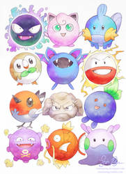 Well Rounded Pokemon by Risachantag