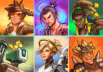 Overwatch Portraits