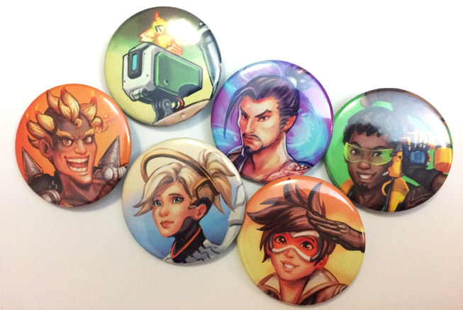 OverwatchPins by Risachantag