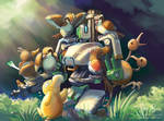 Bastion in the Tall Grass by Risachantag