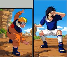 Naruto: Naruto vs Sasuke... by Risachantag