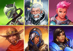 Overwatch Portraits Part 2