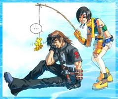 KH: Leon and Yuffie