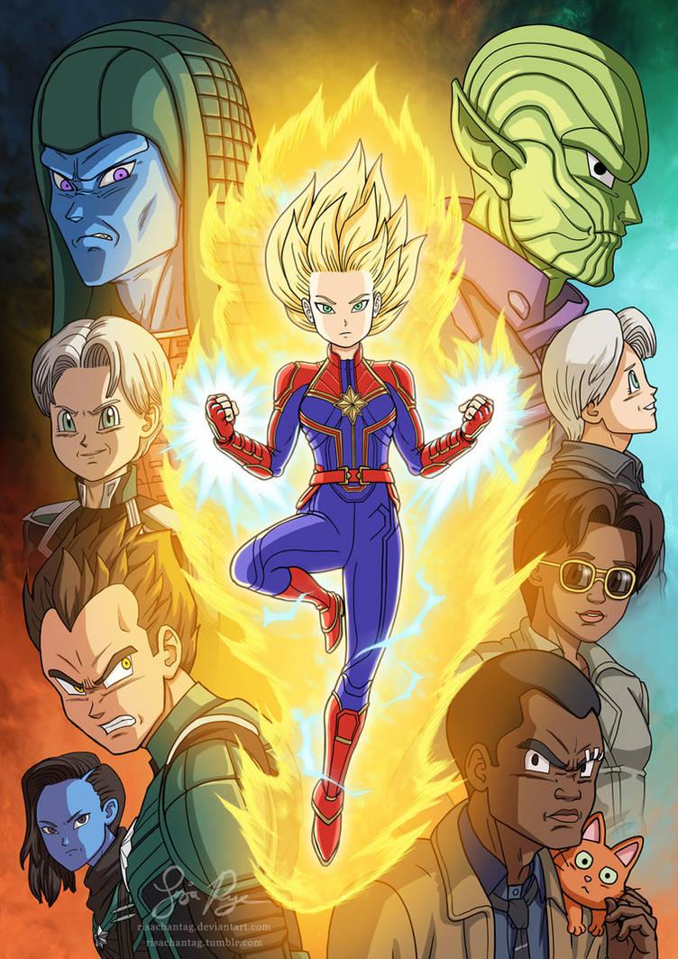 Super Captain Marvel by Risachantag
