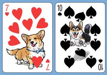 Corgi Deck Number Cards 2 by Risachantag