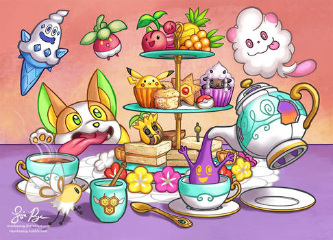 Pokemon High Tea