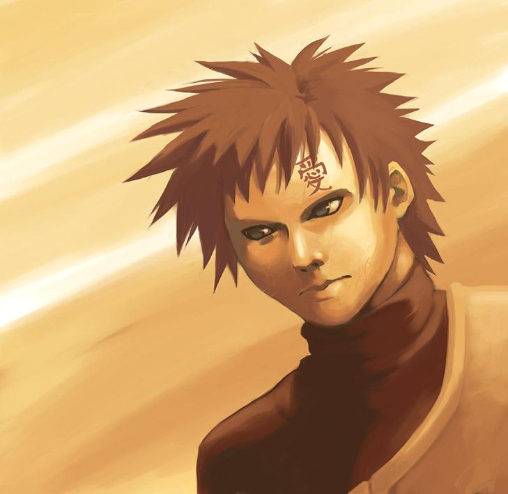 Naruto: Gaara Painting by Risachantag