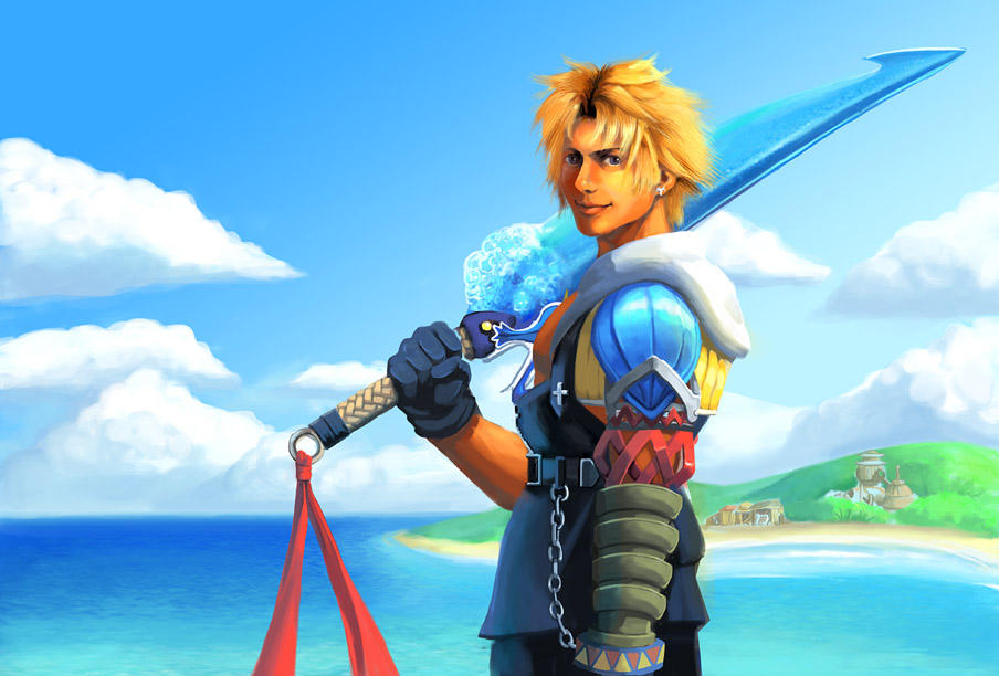 FFX Tidus Painting By Risachantag On DeviantArt