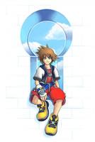 KH: Sora Keyhole by Risachantag