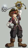 KH2: Pirate Sora