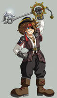 KH2: Pirate Sora by Risachantag