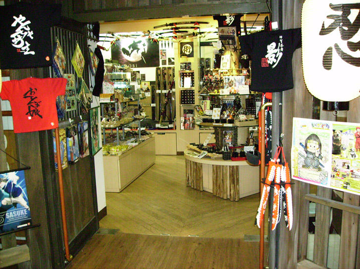 Japan Snapshot: Ninja Store by Risachantag