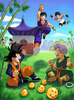 DBZ: Shhh  -Kiriban- by Risachantag