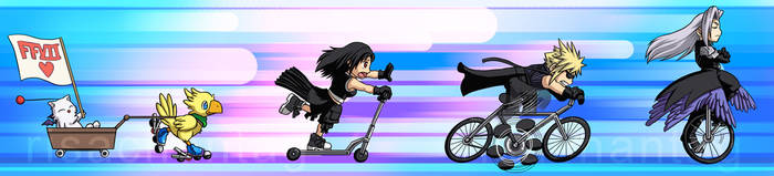 FFVII: One Wheeled Angel