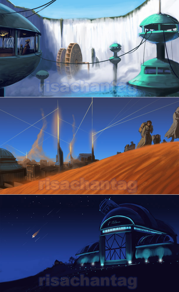 Original: Environment Sketches by Risachantag