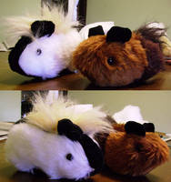 Plushies: Guineapigs by Risachantag