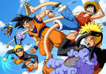 DBZ One Piece Naruto: Melee