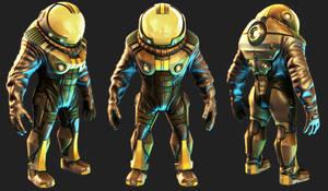 Mudbox: Space Suit