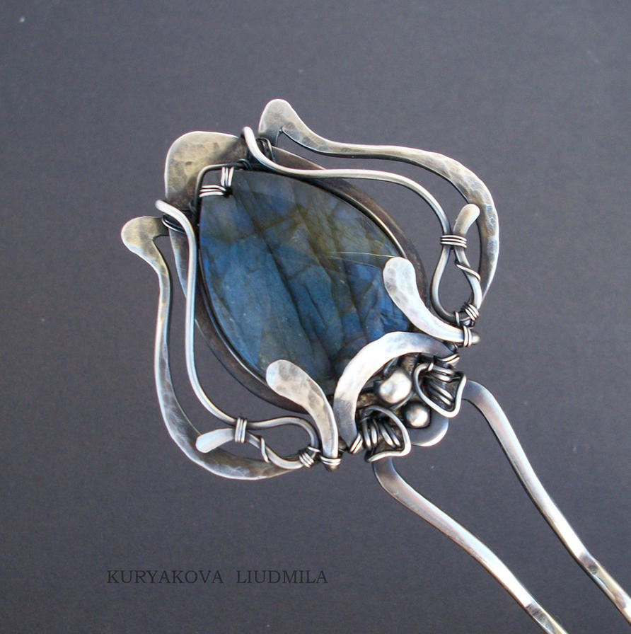BLUE TULIP by KL-WireDream