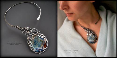 Floran-silver by KL-WireDream