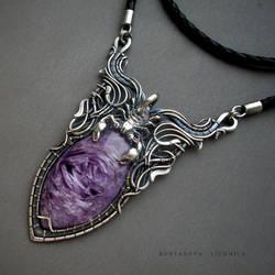 Purple scorpion