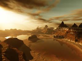 Desert After Rain by angelic-jean