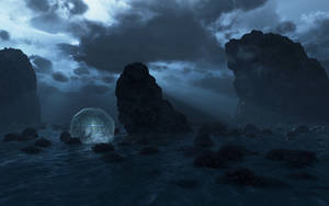 Wental on the Rocks I by angelic-jean