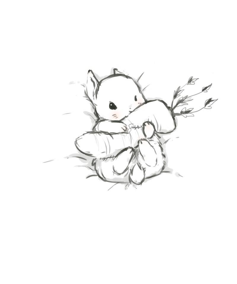 Baby Rabbit by S-hui
