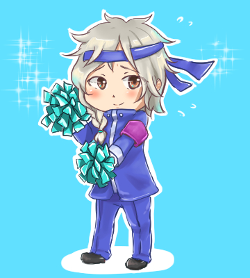 AoH: Chibi Cheerleader Gabe by S-hui