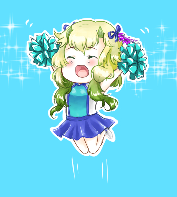 AoH: Chibi Cheerleader Venna by S-hui