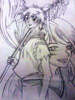 Samourai Deeper Kyo by LoiseFenollCreation