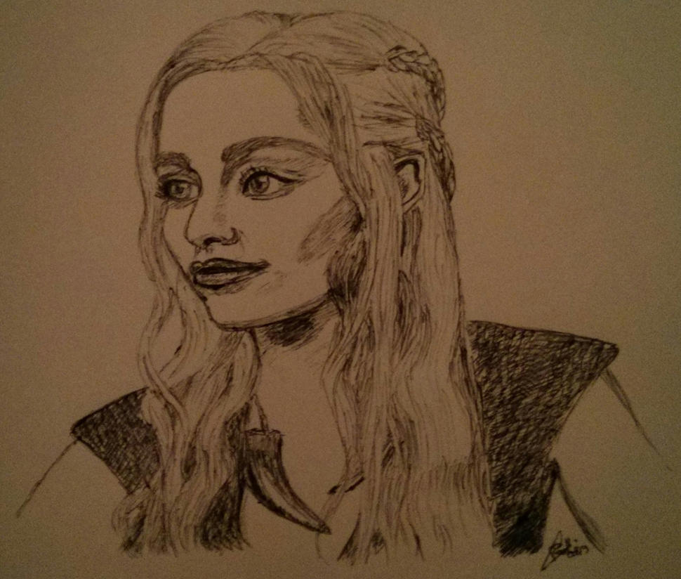 Daenarys Targaryen - Game of Thrones by LoiseFenollCreation