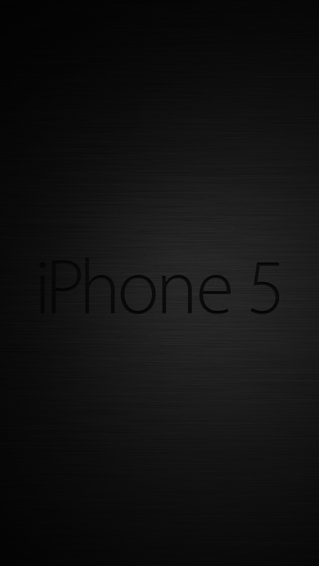 IPhone 5 Dark Lockscreen By MadPorra