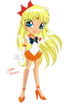 Sailor Venus Winx Chibi Style by Demiluna
