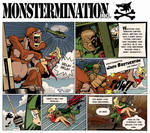Monstermination inc. by Monkey-Cosio