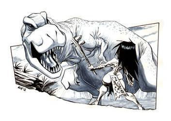 Cavegirl by Monkey-Cosio