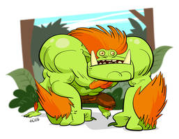 Blanka's walk on the park