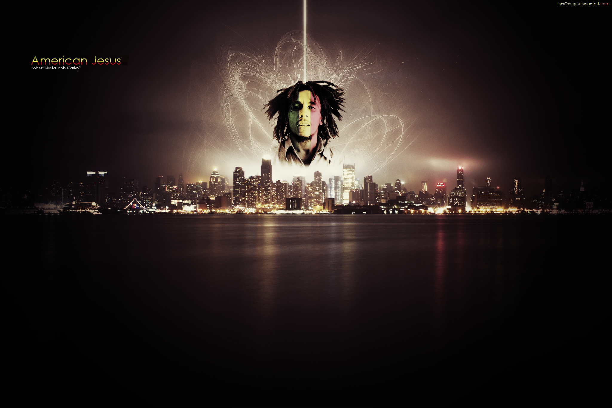 Rasta Bob Wallpaper V3 By LensDesign