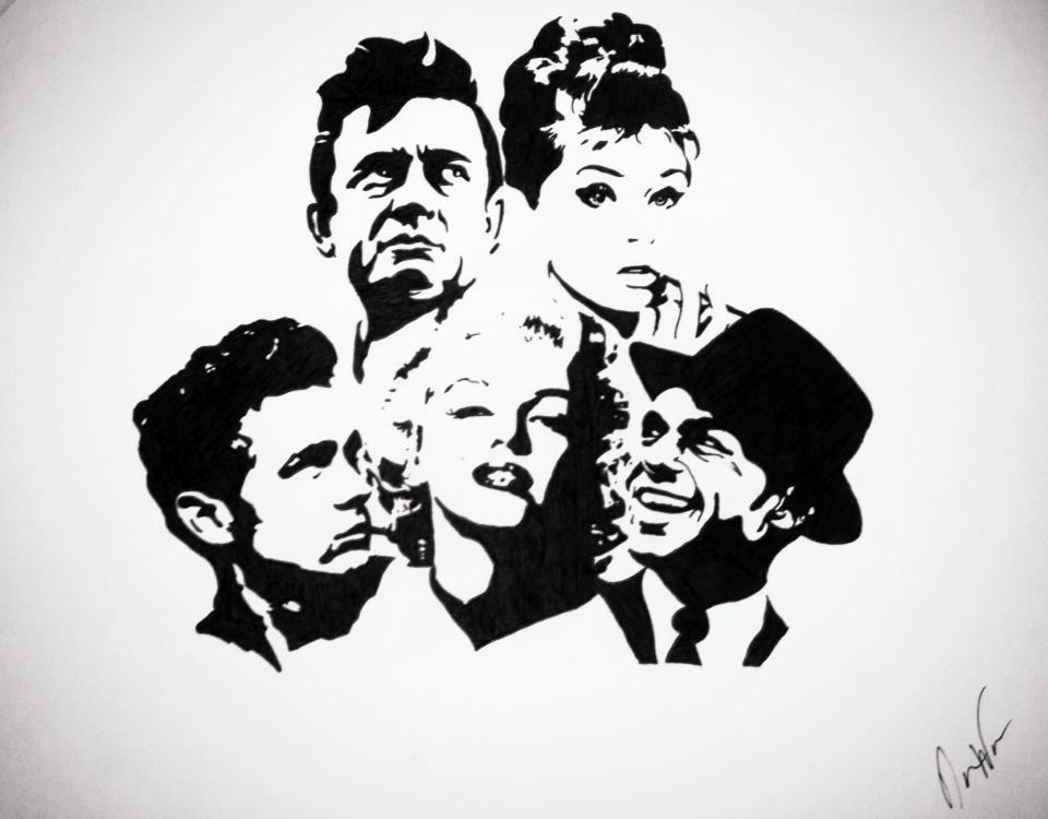 dean martin stencil - photo #41