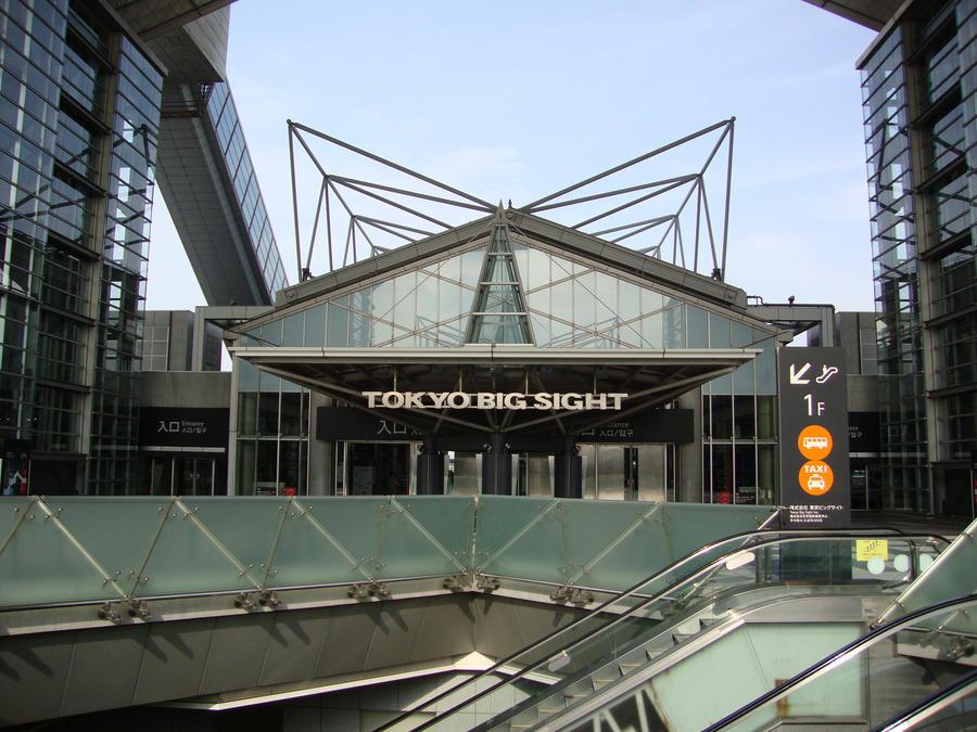 Tokyo Big Sight Tokyo Big Sight 1 by Mucai