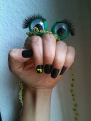 Oobi TV Show: Hand Puppet with Eyelashes