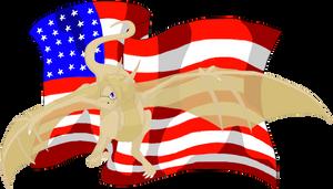 America Dragon by Icy-Marth