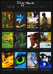 SFW Art Summary 2018