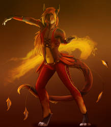 Fire Dance by Icy-Marth