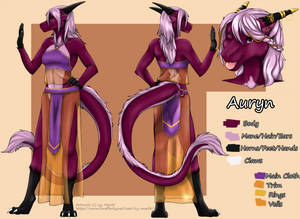 Auryn Reference Sheet [Ver 3]