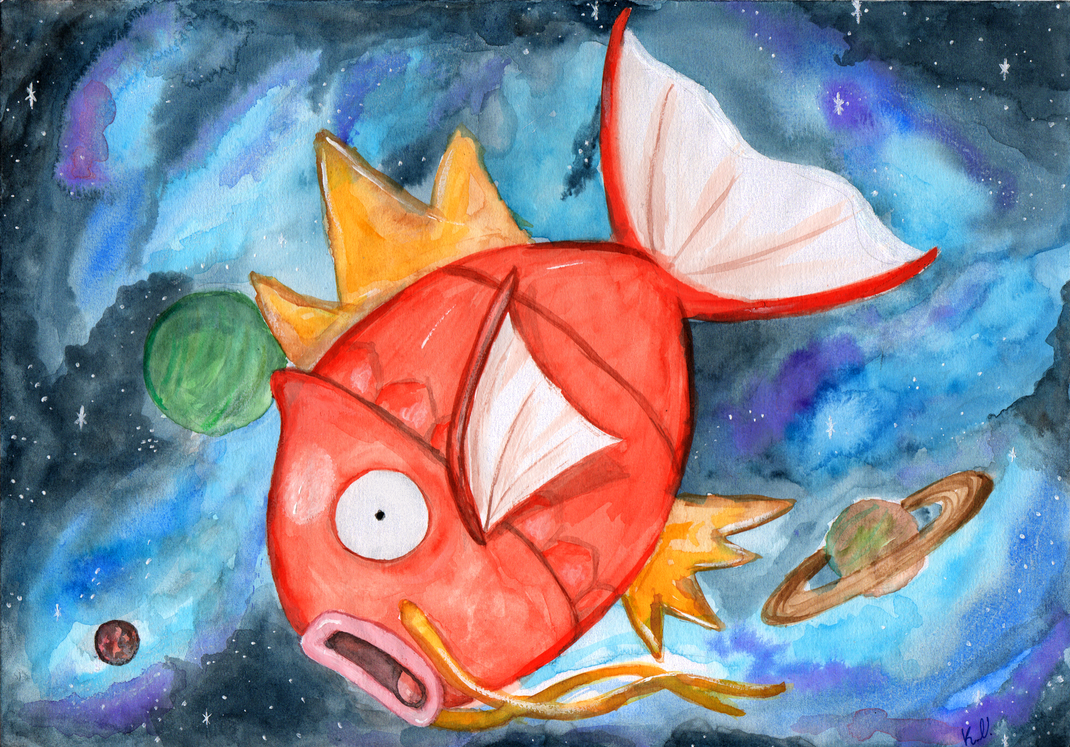 To boldly go where no Magikarp has gone before! by Valach