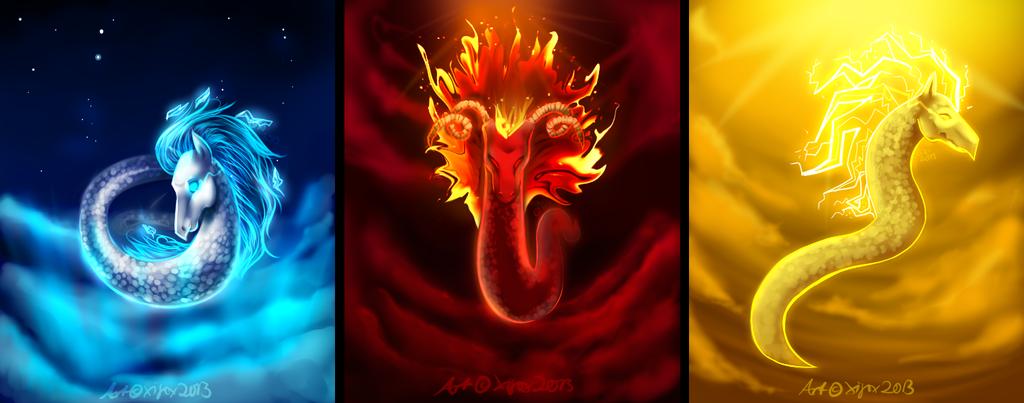 ice elemental dragons - photo #37