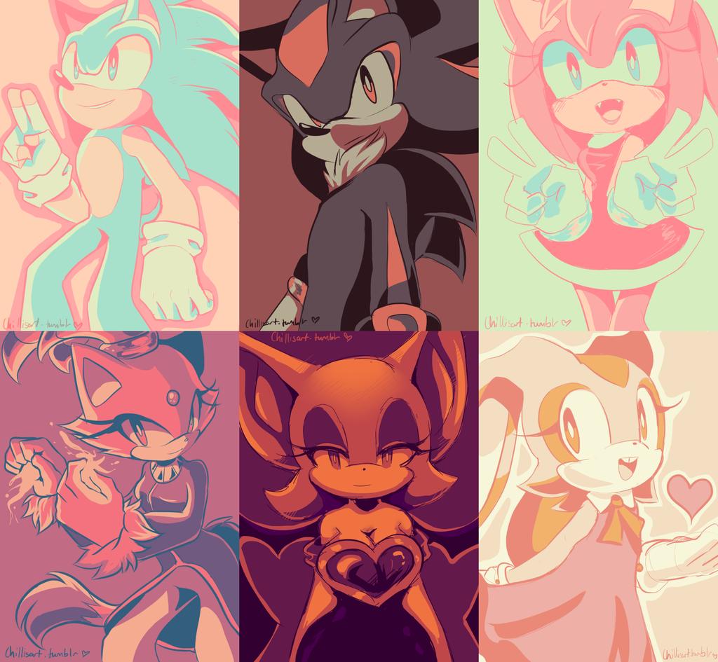 Tumblr palette challenge by aechia