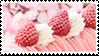 Strawberry cake stamp by rarebeestjes
