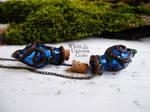 Enchanted vial necklaces by Ilvirin